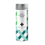 White Coconut Creme Tea Canister