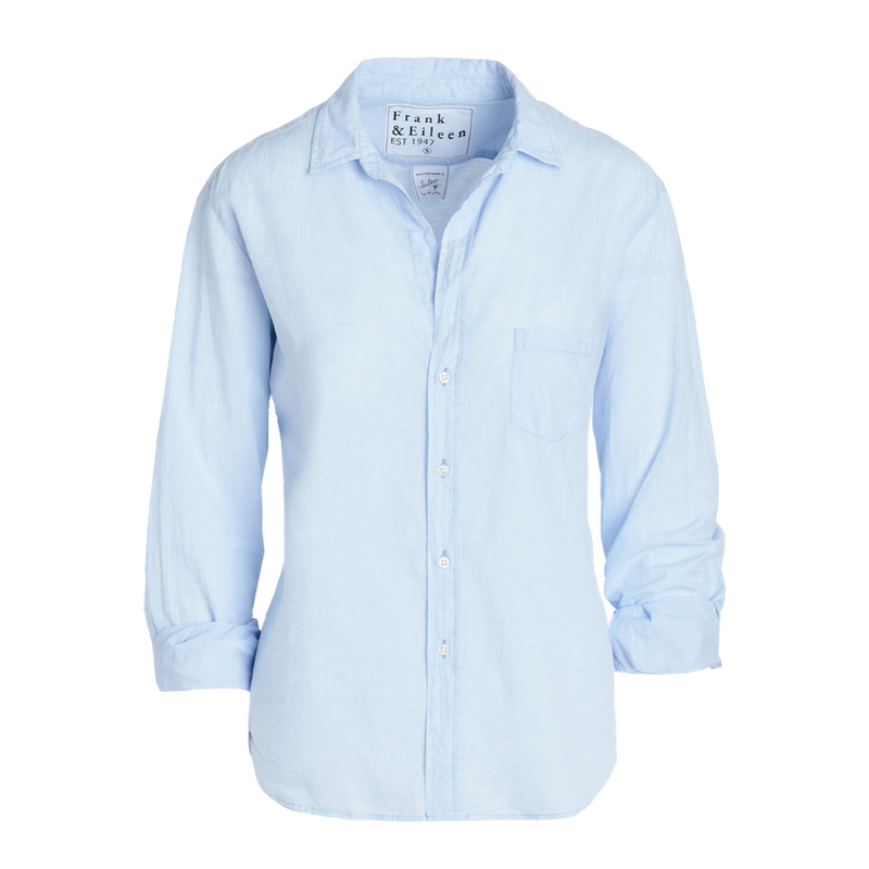 Eileen Button Down (Heather Blue)