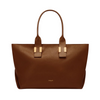 Melbourne Cognac Structured Tote
