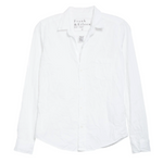 Barry Button Down Shirt (White Poplin Crinkle)