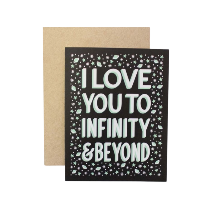 Infinity & Beyond Card
