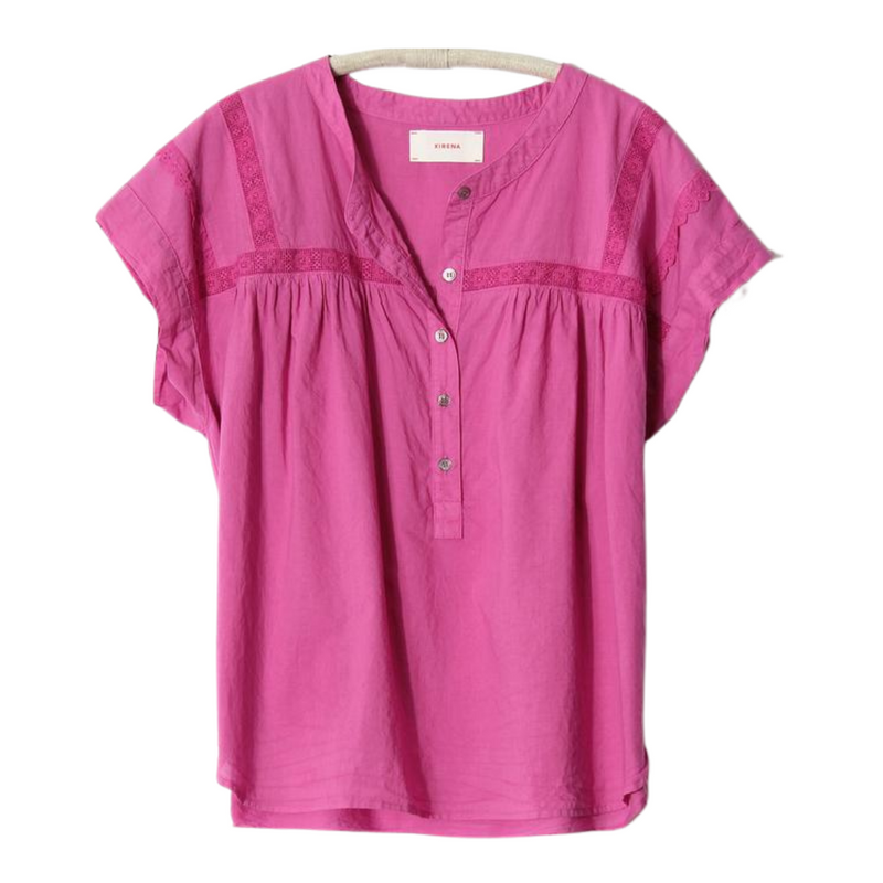 Aubry Top (Pink Orchid)