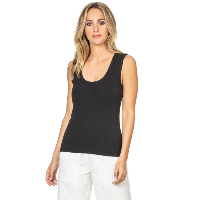 Simple Scoop Tank (Black)