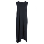 Relaxed Asymmetric Tank Dress (British Royal Navy)