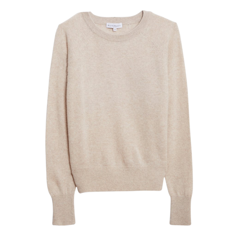 Cashmere Sweatshirt (Wheat Heather)