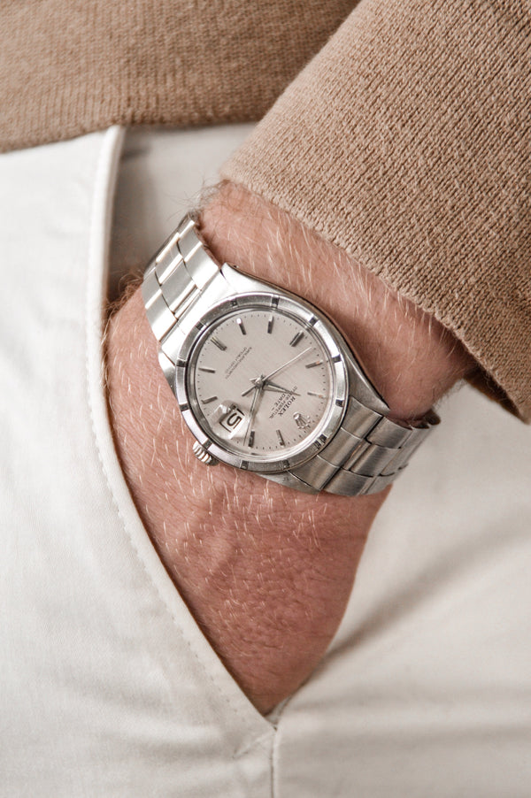 ROLEX OYSTER PERPETUAL DATE - 1963 - Trophies Watches