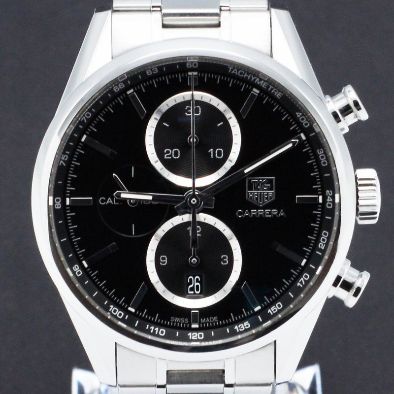 TAG Heuer Carrera Calibre 5 CAR2110 - 2012 - TAG Heuer horloge - TAG Heuer kopen - TAG Heuer heren horloge - Trophies Watches