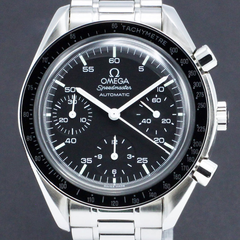 Omega Speedmaster Reduced 3510.50.00 - 1995 - Omega horloge - Omega kopen - Omega heren horloge - Trophies Watches