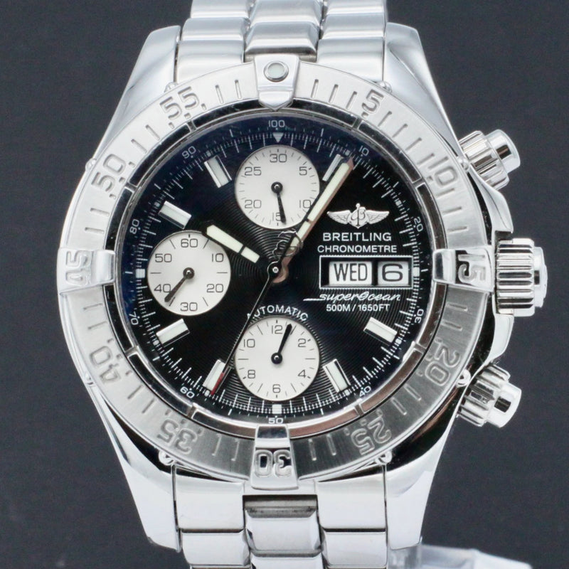 Breitling Superocean Chronograph II A13340 - 2004 - Breitling horloge - Breitling kopen - Breitling heren horloge - Trophies Watches