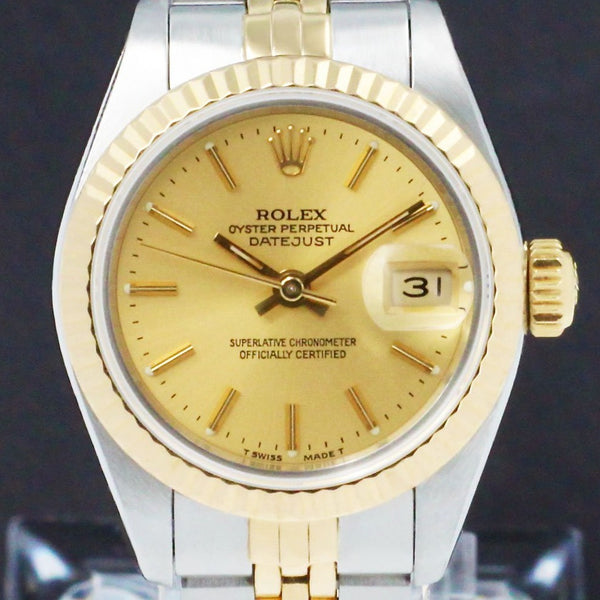 Rolex Lady-Datejust 69173 - 1990 - Rolex horloge - Rolex kopen - Rolex dames horloge - Trophies Watches