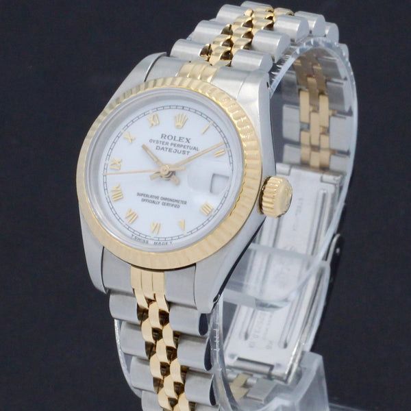 Rolex Lady-Datejust 69173 - 1987 - Rolex horloge - Rolex kopen - Rolex dames horloge - Trophies Watches