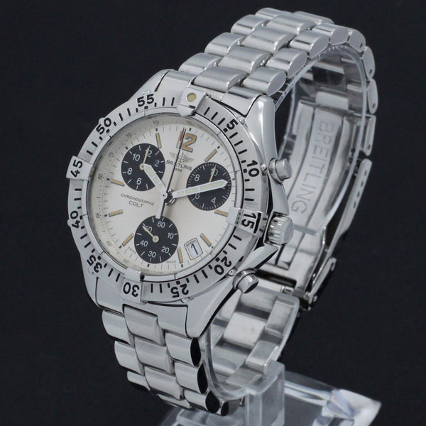 Breitling Colt Chronograph A53035 - 1996 - Breitling horloge - Breitling kopen - Breitling heren horloge - Trophies Watches