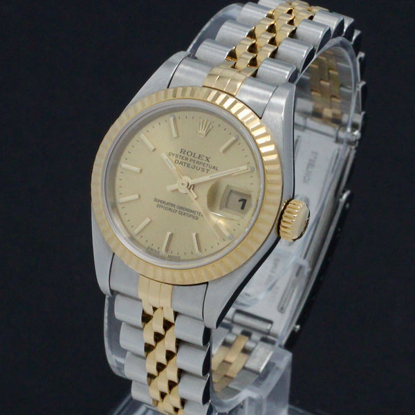 Rolex Lady-Datejust 79173 - 2000 - Rolex horloge - Rolex kopen - Rolex dames horloge - Trophies Watches