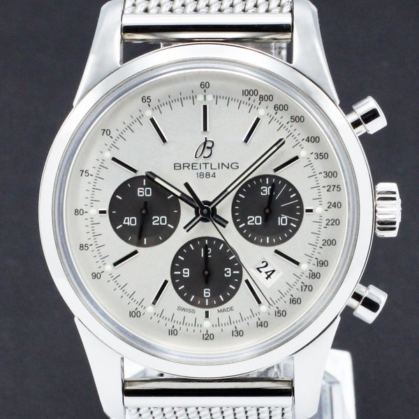 Breitling Transocean Chronograph AB015G24OCA - 2012 - Breitling horloge - Breitling kopen - Breitling heren horloge - Trophies Watches