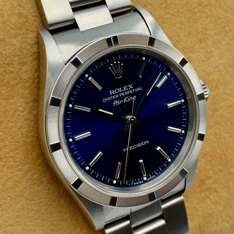 Rolex Air King Precision 14010 - 1995 - Rolex horloge - Rolex kopen - Rolex heren horloge - Trophies Watches
