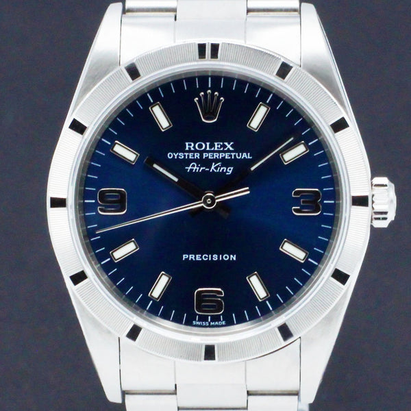 Rolex Air King Precision 14010M - 2004 - Rolex horloge - Rolex kopen - Rolex heren horloge - Trophies Watches
