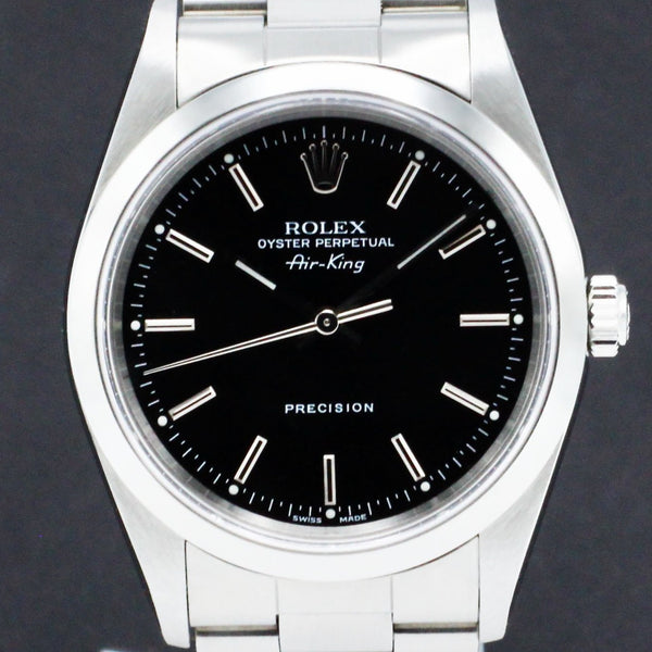 Rolex Air King Precision 14000M - 1999 - Rolex horloge - Rolex kopen - Rolex heren horloge - Trophies Watches