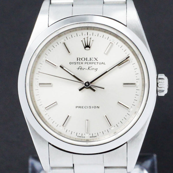 Rolex Air King Precision 14000M - 2001 - Rolex horloge - Rolex kopen - Rolex heren horloge - Trophies Watches