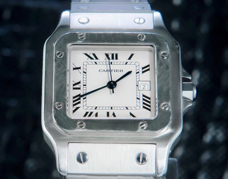 Cartier Santos Galbée - Trophies Watches