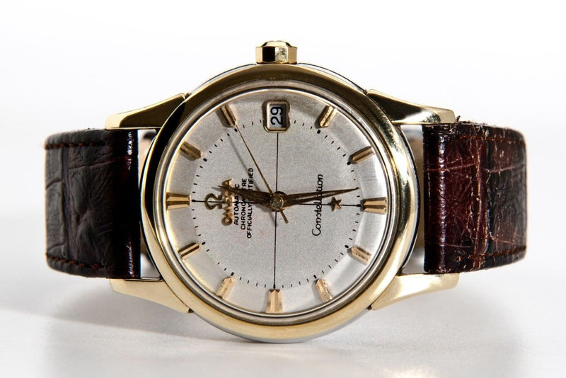 Omega Constellation Pie Pan 14393 - Omega horloge - Omega kopen - Omega heren horloge - Trophies Watches