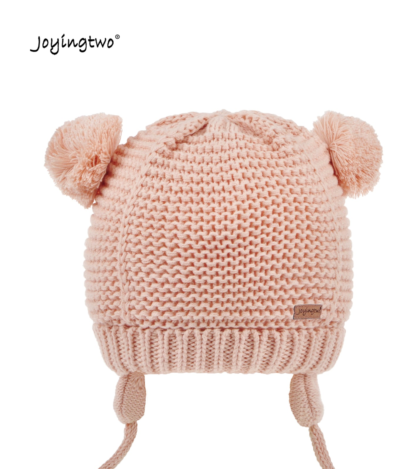Toddler Hat with Ear Flaps and Pom