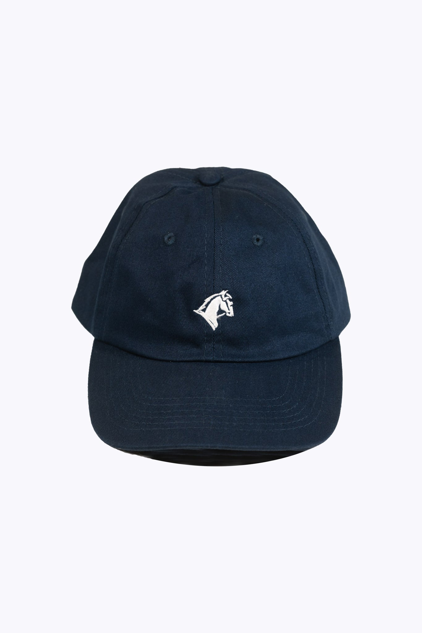 Dad Cap Navy Horse