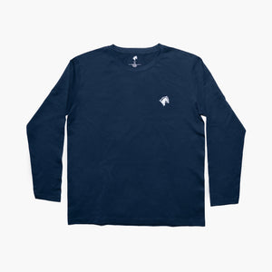 Classic Long Sleeve Horse Navy
