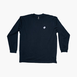 Classic Long Sleeve Horse Black
