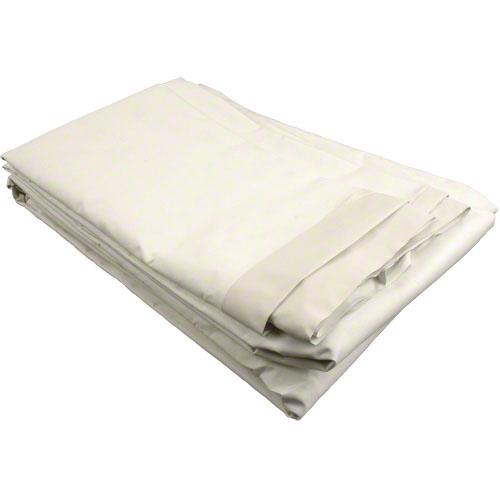 Sigman 4' x 15' Butyl Coated Cotton Drop Cloth - 12-Pack