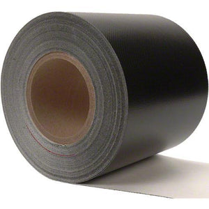 Sigman 6 in. x 50 ft. Tarp Repair Tape - 18 Vinyl Coated Polyester - Black
