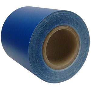 Sigman 6 in. x 50 ft. Tarp Repair Tape - 18 Vinyl Coated Polyester - Blue