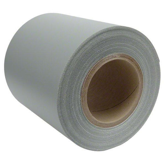 Sigman 6 in. x 50 ft. Tarp Repair Tape - 18 Vinyl Coated Polyester - Gray