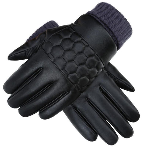 Mens Gloves Genuine Leather