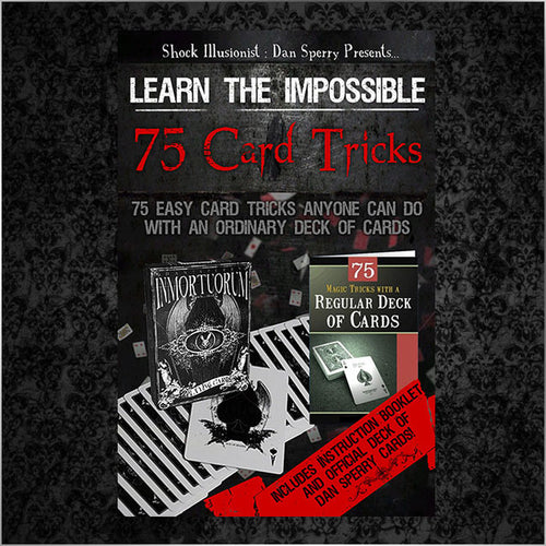 75 EASY CARD TRICKS BOOK/DAN SPERRY DECK BUNDLE