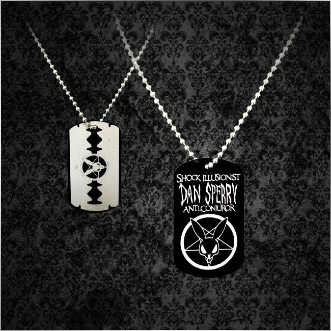 ANTI-CONJUROR DOG TAG NECKLACE