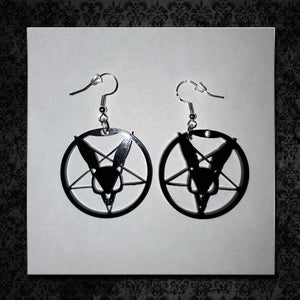 Dan Sperry Logo Earrings