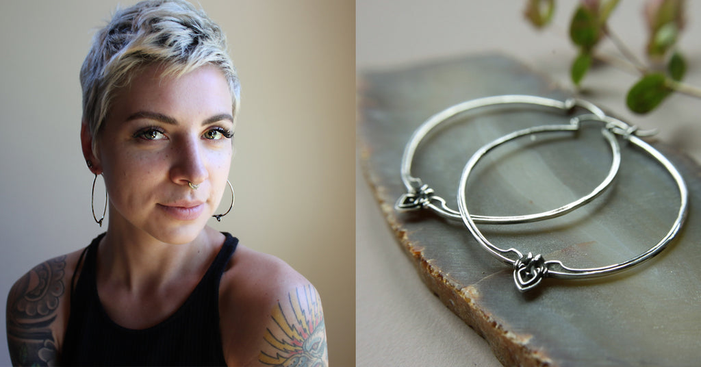high quality fashion jewelry ethically made from recycled metals