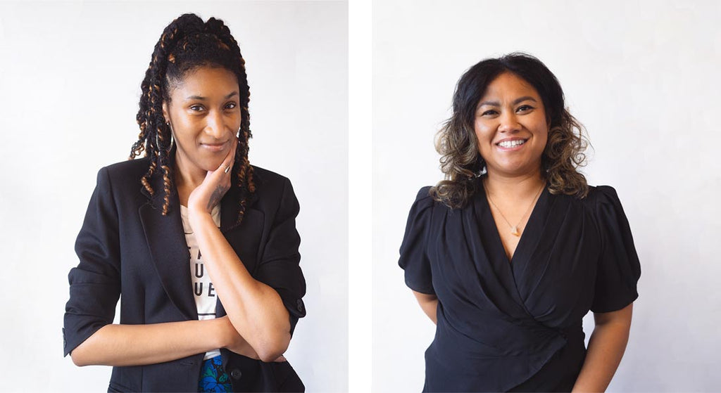 podcast on sustainable fashion by BIPOC hosts, JeLisa Marshall and Ny Pen