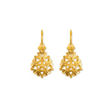 Maria Drop Earrings- 18k Gold