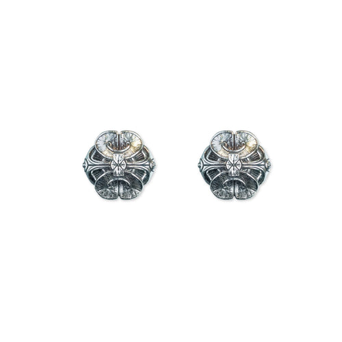 Scallop Stud Earrings - ASTOR + ORION ethically made jewelry