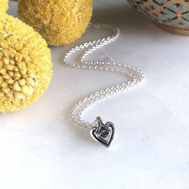 Tiny Heart - ASTOR + ORION ethically made jewelry