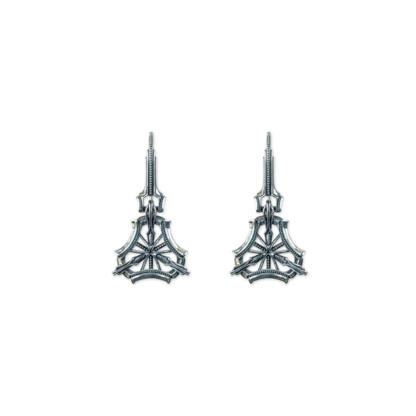 Trinity Drop Earrings - ASTOR + ORION ethically made jewelry