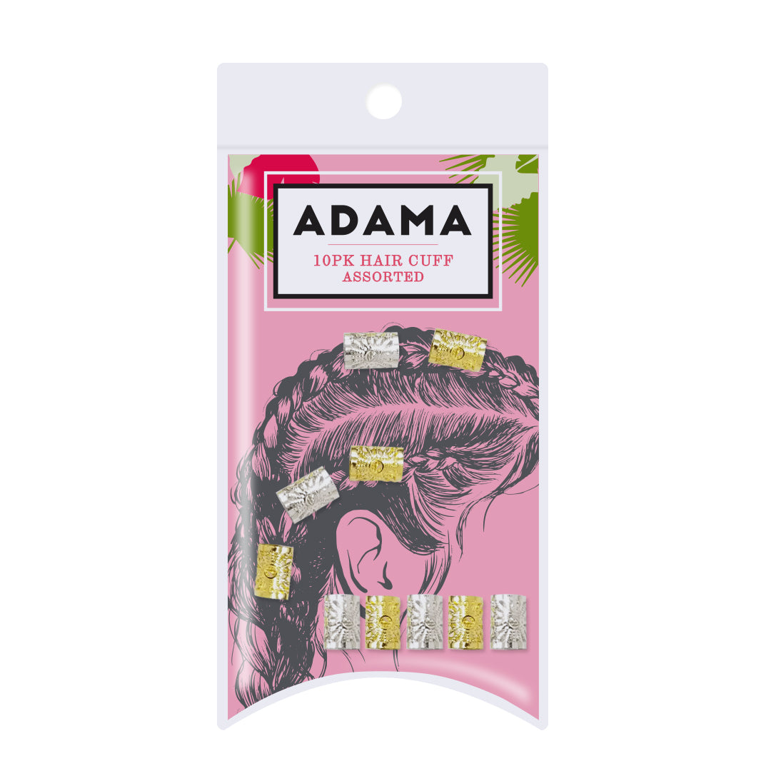 Hair Cuffs - 10 Pack | ADAMA BEAUTY CO. | Curly Haircare Accessories