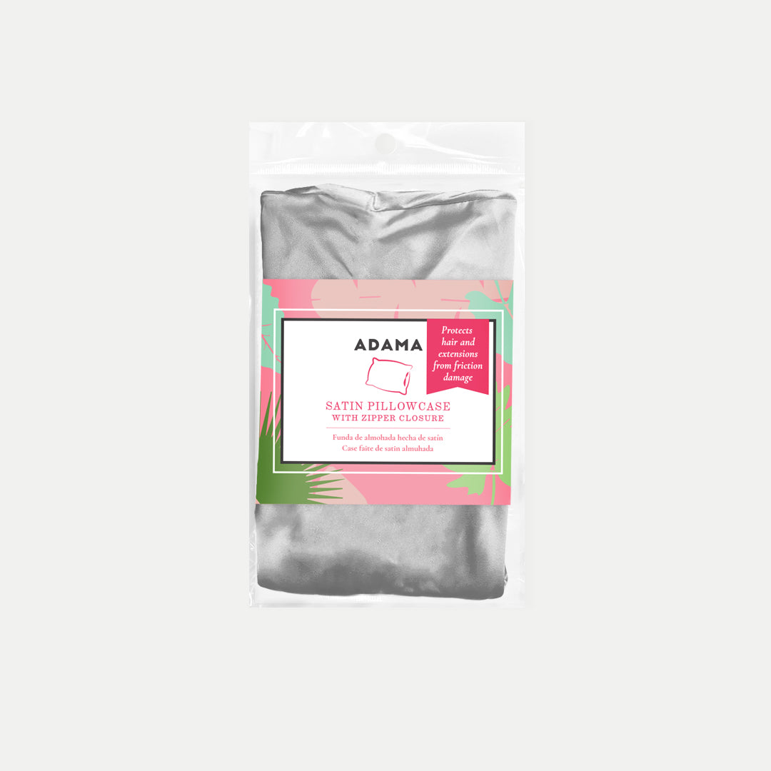 Satin Pillow Cases | ADAMA BEAUTY CO. | Curly Haircare Accessories