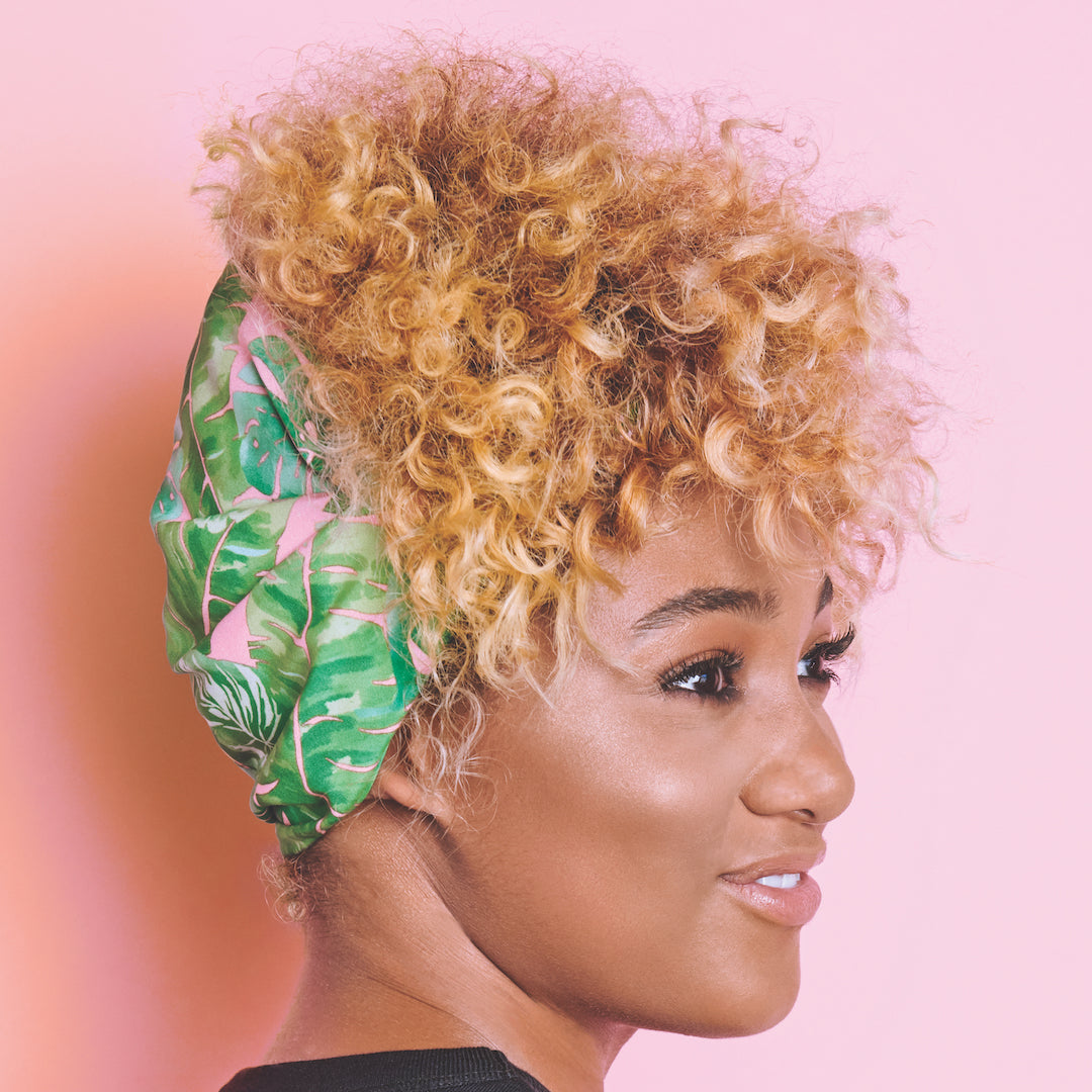 Wide Satin-Lined Headband | ADAMA BEAUTY CO. | Curly Haircare Accessories