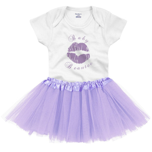 Baby Beautee Onesie and TuTu