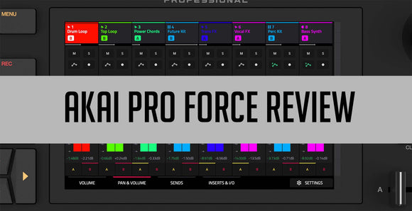 AKAI Pro Force Review