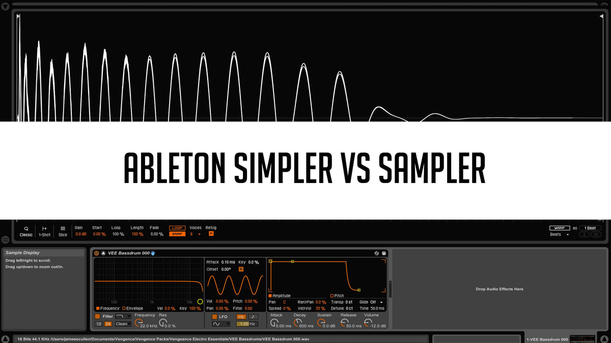 Ableton Simpler vs Sampler – Top Music Arts
