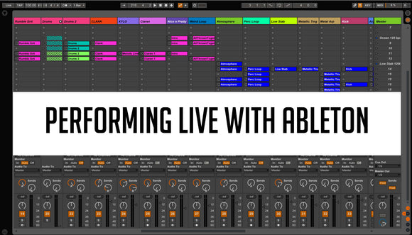 Performing live with Ableton