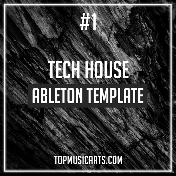 #1 - Tech House Ableton Template (Fisher, Cloonee Style)